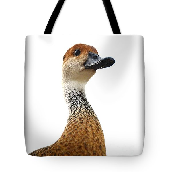 I'm Not Quacking Tote Bag by Darla Wood