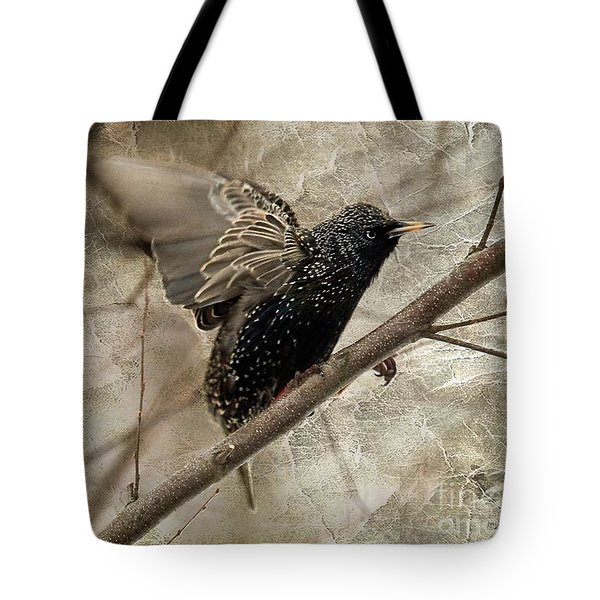 I'm Outta Here Tote Bag by Lois Bryan