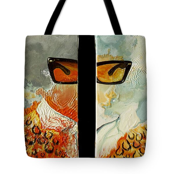 I'm Smiling At You Tote Bag by Joseph Demaree