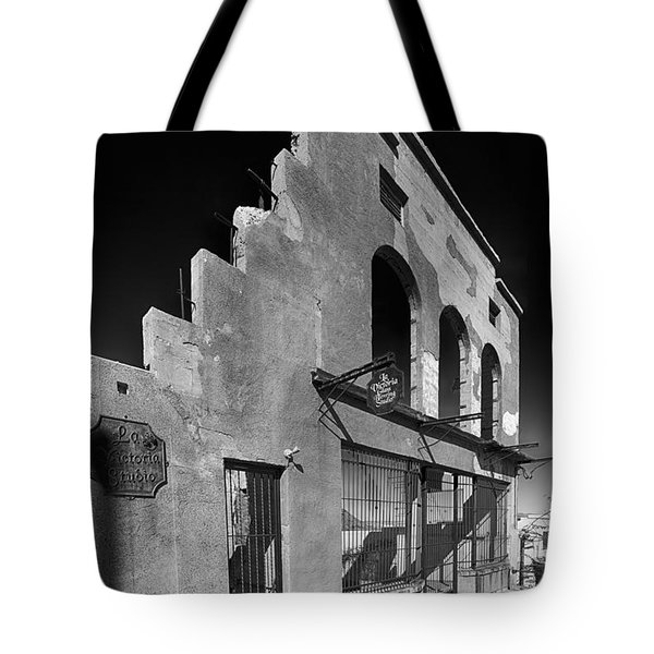 Im Still Standing Jerome Black And White Tote Bag by Scott Campbell