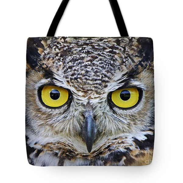 I'm Watching You Tote Bag