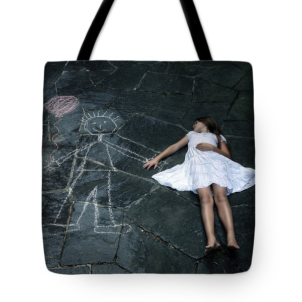 Imaginary Friend Tote Bag by Joana Kruse