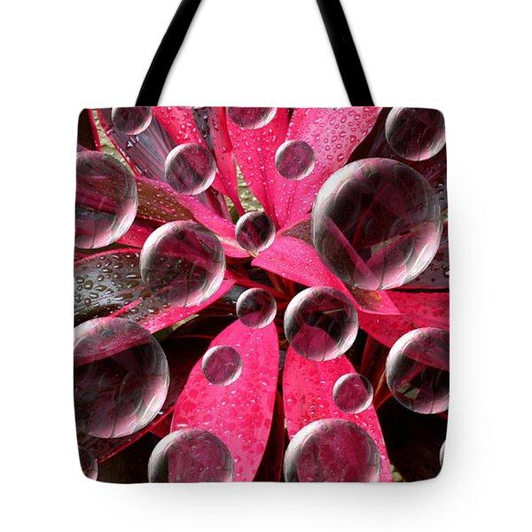 Imaginary Water Drops Tote Bag