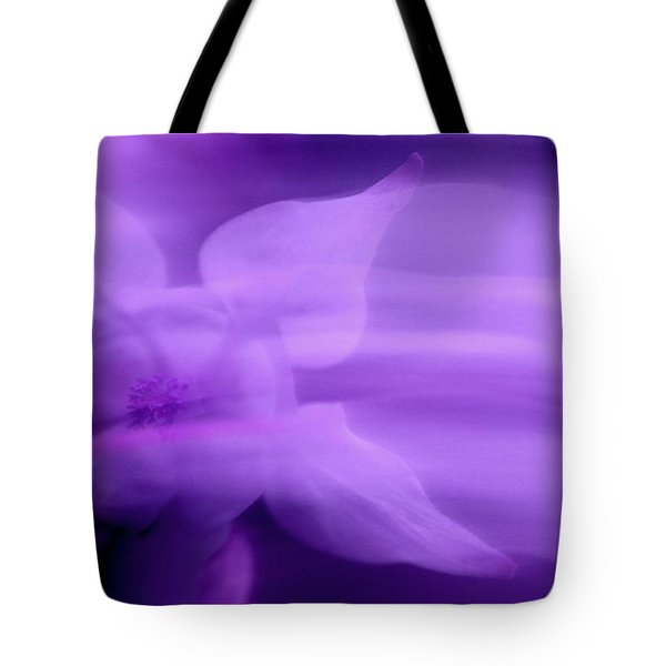 Imagination In Purple Tote Bag
