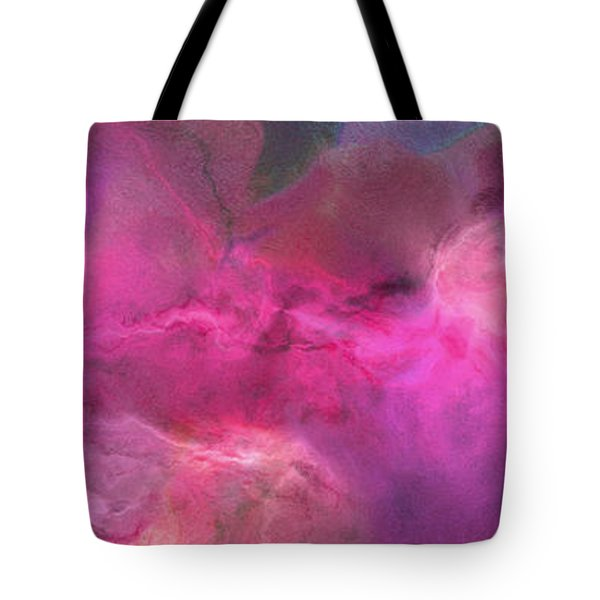 Imagination In Ruby Fire - Abstract Art Tote Bag by Jaison Cianelli