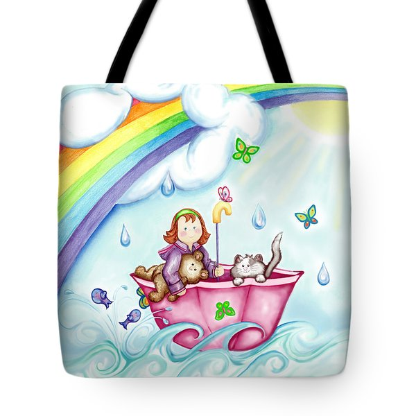 Imagination Land Tote Bag