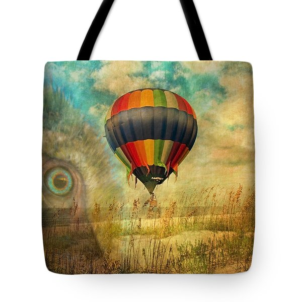 Imagine Tote Bag by Betsy Knapp