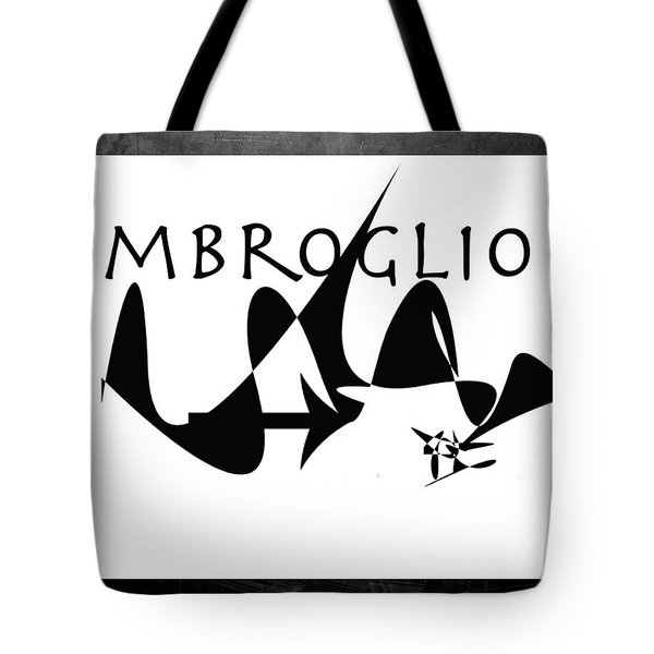 Tote Bag featuring the digital art Imbroglio by Karo Evans