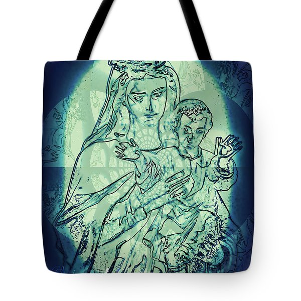 Immanuel God With Us Tote Bag