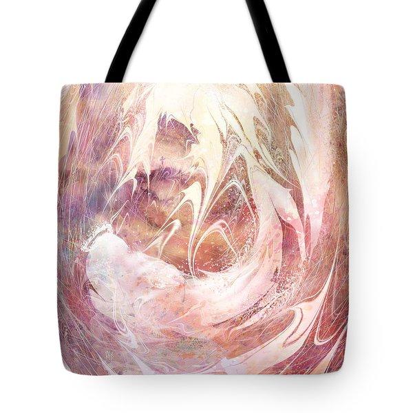 Immanuel Tote Bag by Rachel Christine Nowicki