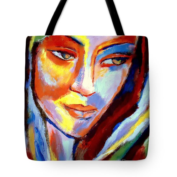 Tote Bag featuring the painting Immersed by Helena Wierzbicki