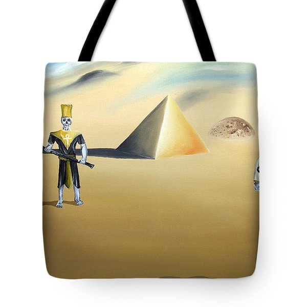 Tote Bag featuring the painting Immortality by Ryan Demaree