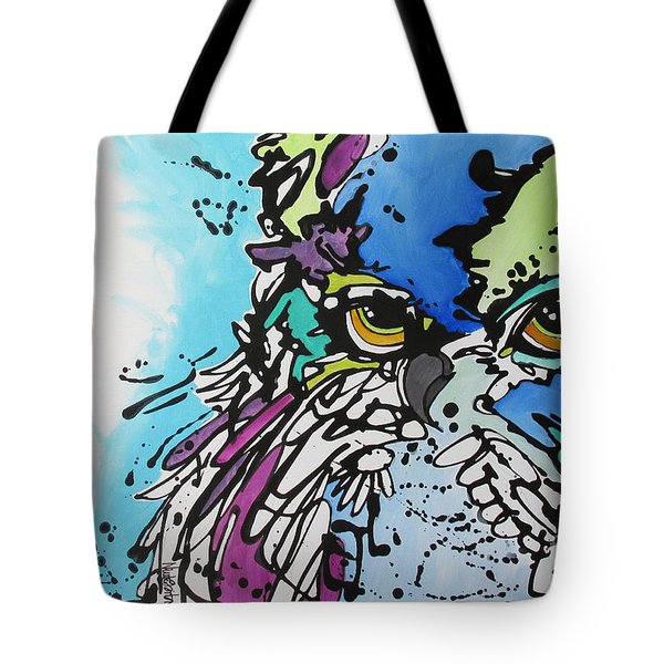 Tote Bag featuring the painting Immutable by Nicole Gaitan