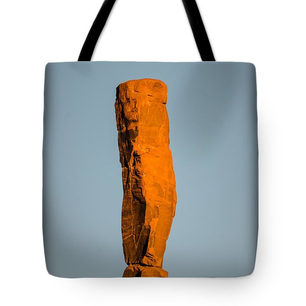 Tote Bag featuring the photograph iMoon by Jeff Kolker