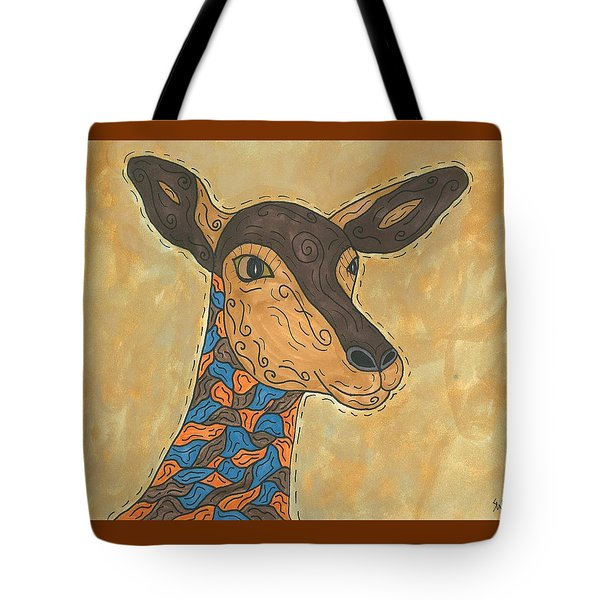 Tote Bag featuring the painting Impala Antelope by Susie Weber