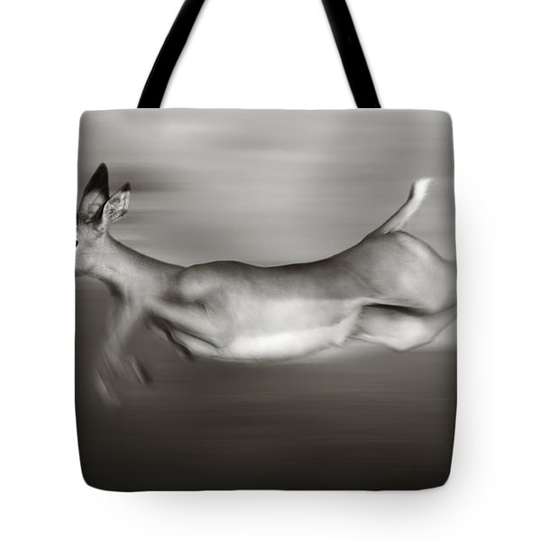 Impala Running  Tote Bag