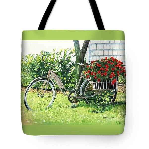 Impatiens To Ride Tote Bag by LeAnne Sowa