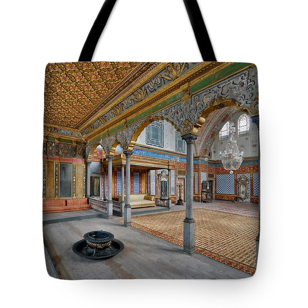 Imperial Hall Of Harem In Topkapi Palace Tote Bag by Ayhan Altun