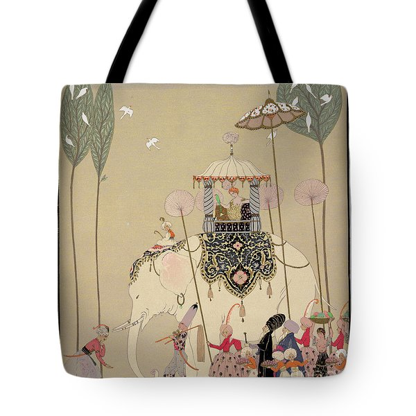 Imperial Procession Tote Bag