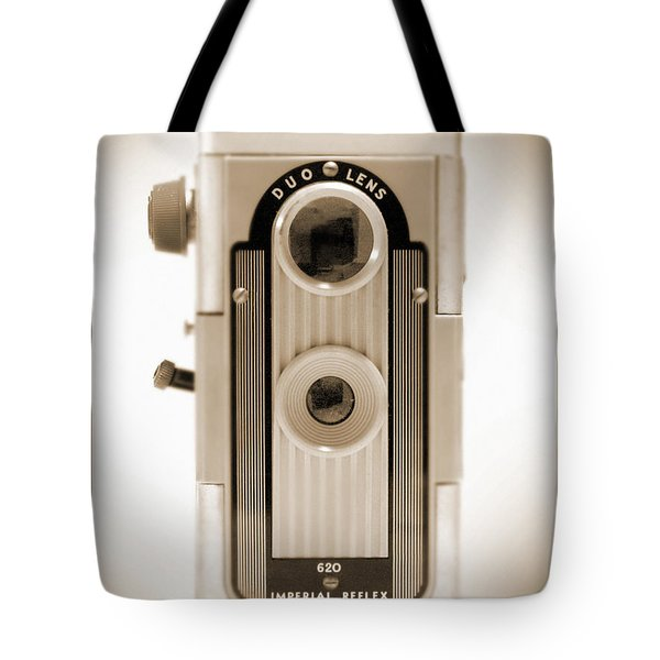 Imperial Reflex Camera Tote Bag by Mike McGlothlen