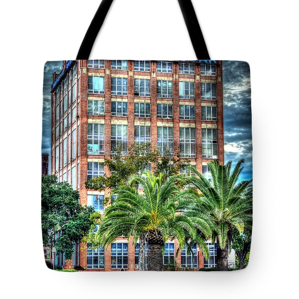 Imperial Sugar Factory Daytime Hdr Tote Bag