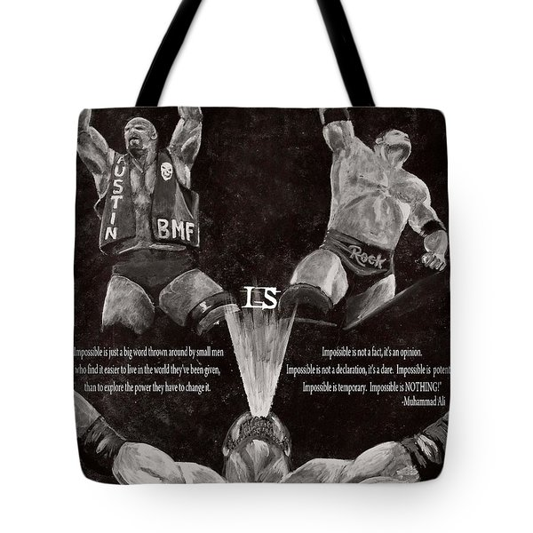 Impossible Is Nothing Tote Bag