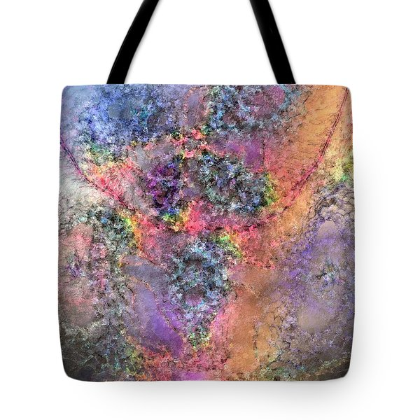 Tote Bag featuring the digital art Impressionist Dreams 2 by Casey Kotas