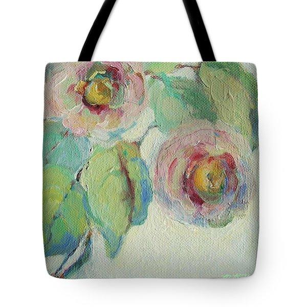 Impressionist Roses  Tote Bag