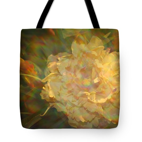 Tote Bag featuring the photograph Impressionistic Rose by Dora Sofia Caputo Photographic Art and Design