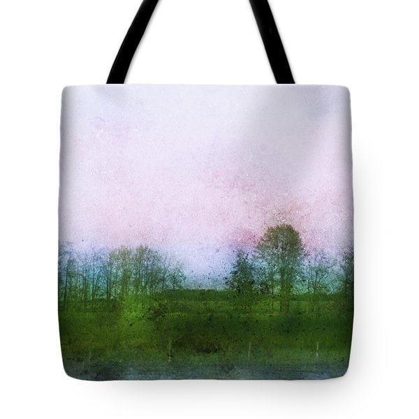 Impressionistic Style Of Trees Tote Bag by Roberta Murray