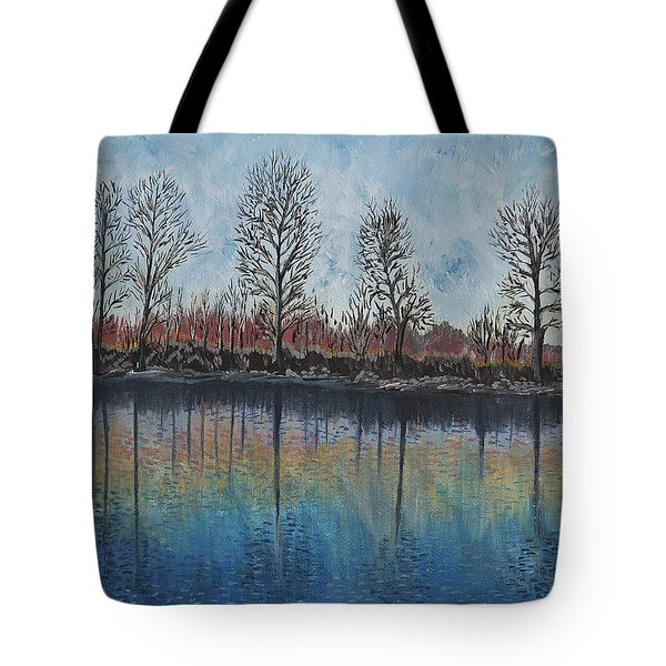 Impressions  Tote Bag by Felicia Tica