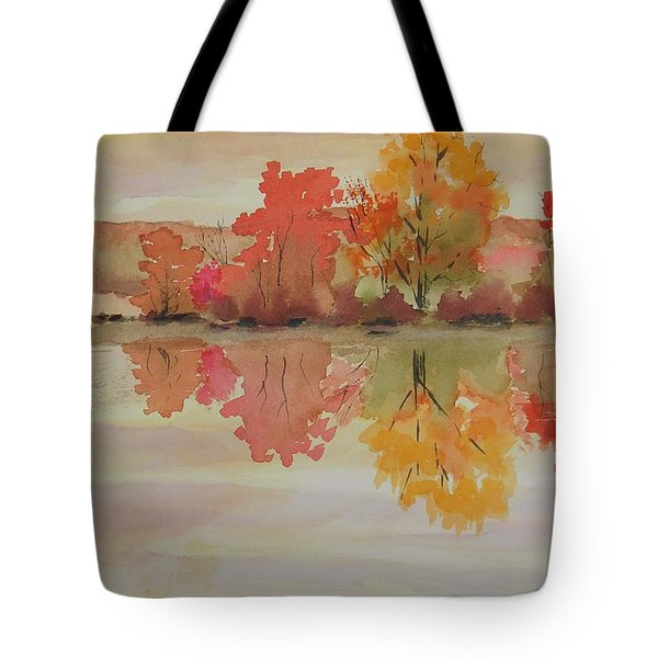 Impressions Of Fall Tote Bag
