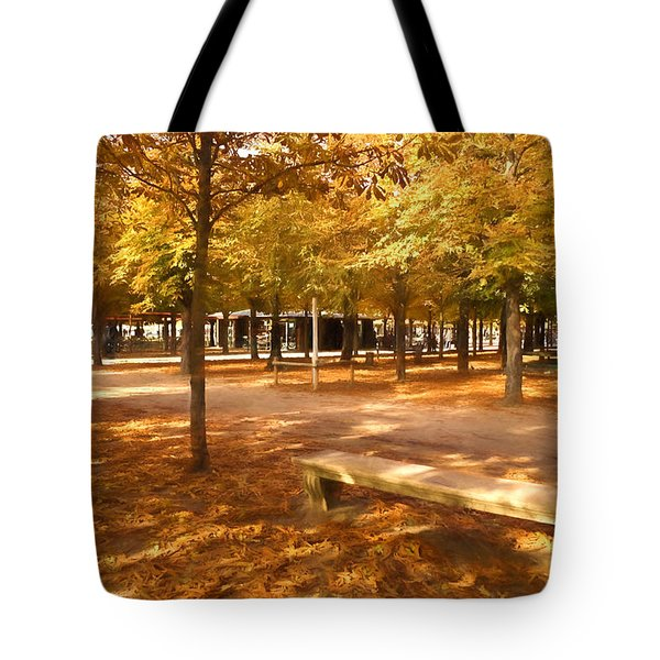 Impressions Of Paris - Tuileries Garden - Come Sit A Spell Tote Bag