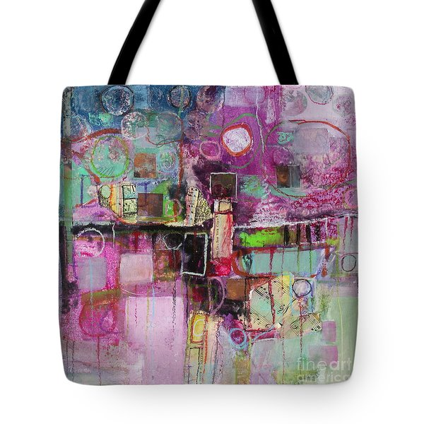 Tote Bag featuring the painting Impromptu by Michelle Abrams