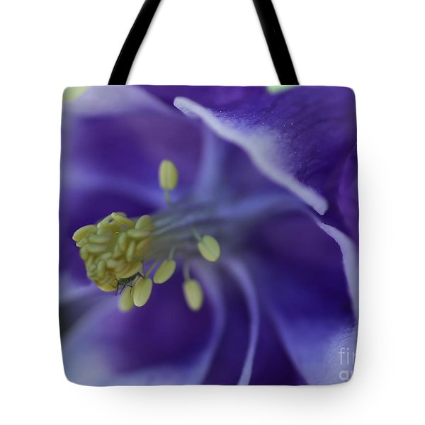 Tote Bag featuring the photograph In A Bugs World by Mary Lou Chmura