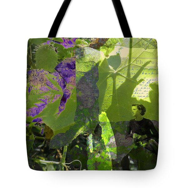 Tote Bag featuring the digital art In A Dream by Cathy Anderson