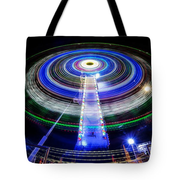 In A Spin Tote Bag