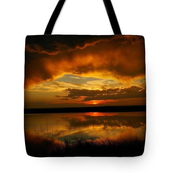 In All His Glory Tote Bag by Jeff Swan