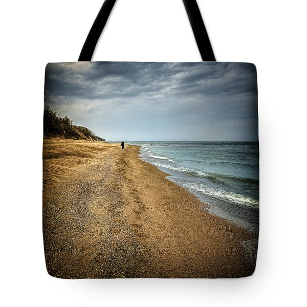 In All Things You Do Consider The End Tote Bag by Jeff Burton