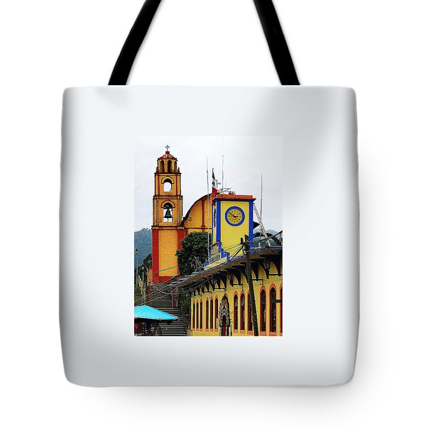 Tote Bag featuring the photograph In Amixtlan by Joy Nichols