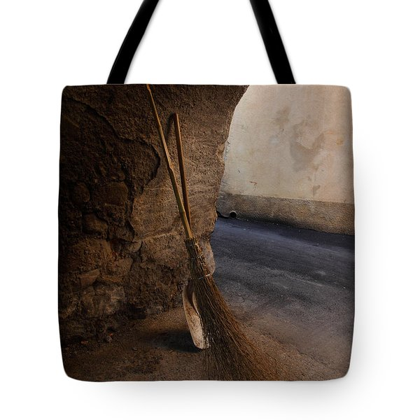 In An Ancient Village Tote Bag by Susan Rovira