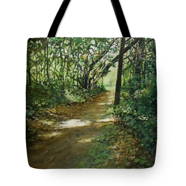 In And Out Of The Shadows Tote Bag