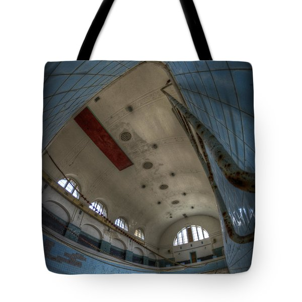 In At The Deep End Tote Bag by Nathan Wright