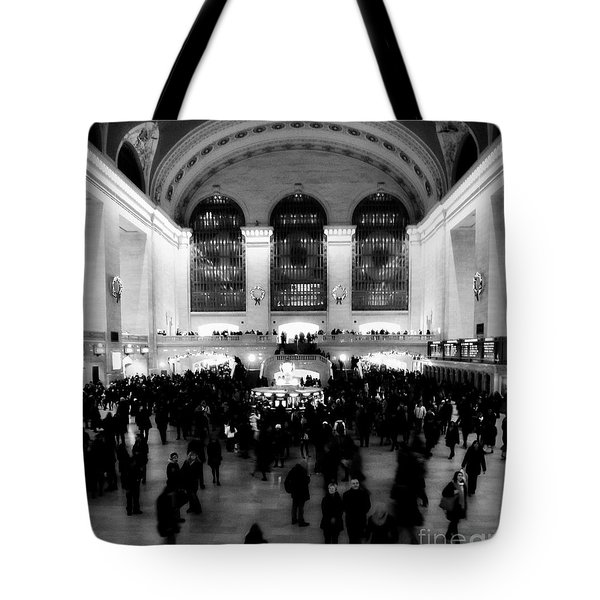 In Awe At Grand Central Tote Bag