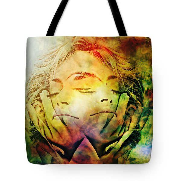 In Between Dreams Tote Bag by Ally  White