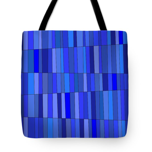 In Blue Please Tote Bag