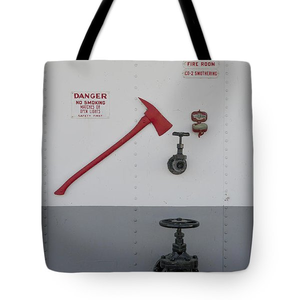 In Case Of Fire Tote Bag by Steven Ralser