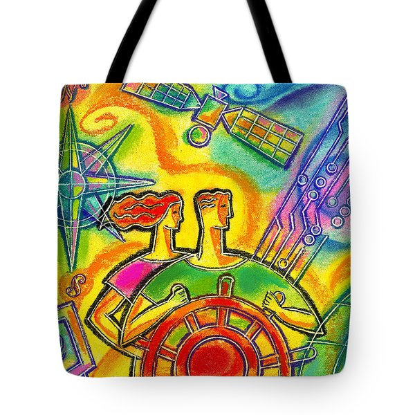In Charge Tote Bag by Leon Zernitsky