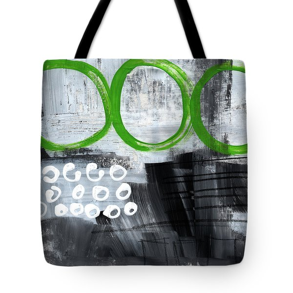 In Circles- Abstract Painting Tote Bag