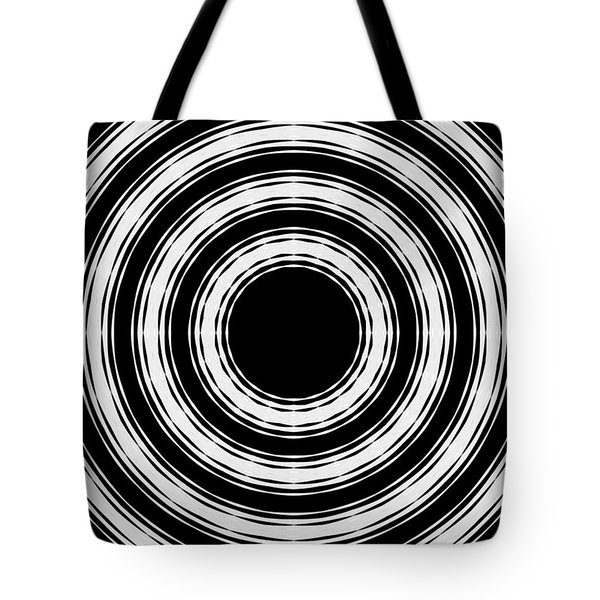 In Circles Tote Bag by Roz Abellera Art